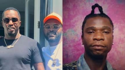 Them dey rush me, i never rush them, says Speedy Darlington in reaction to Falz meeting with Diddy