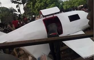 Young Boy From Enugu State Builds Aeroplane