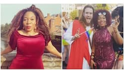 He was ahead of the game and liked both men and women - Nigerian lady claims as she partied with earthly Jesus in London