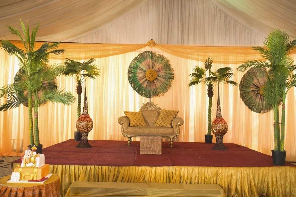 Latest Yoruba traditional wedding decoration ideas ▷ Legit.ng