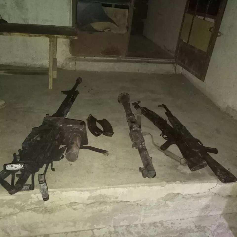 Troops engage Boko Haram terrorists fleeing in gun truck; avert IED attack (photos)