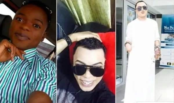 Bobrisky before and after pictures