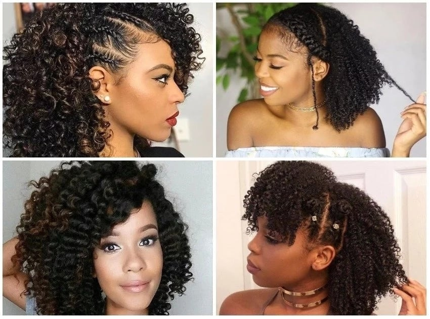 Natural Black Haircuts 2019 21
