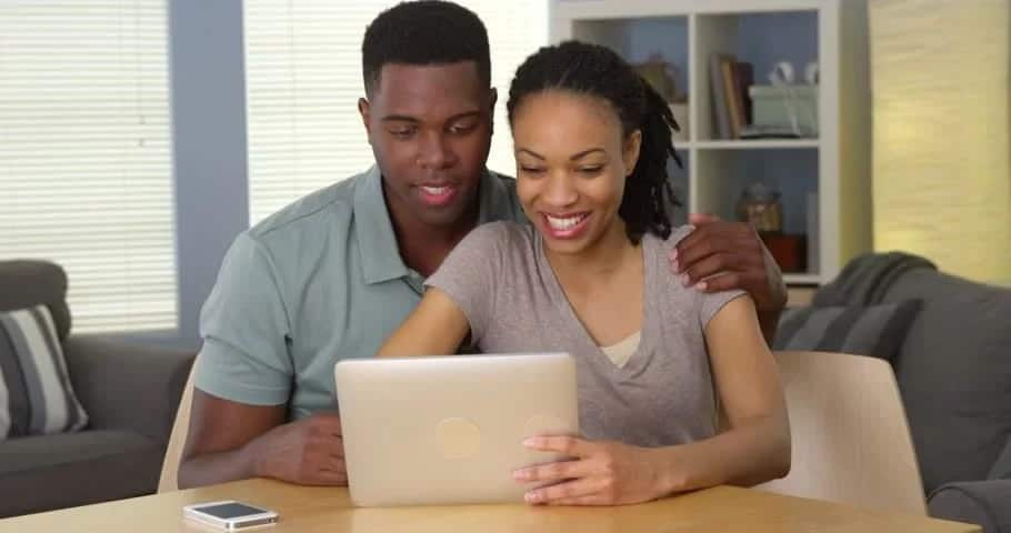Access Bank online account balance check on computer