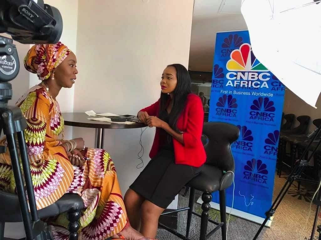 Toyin Saraki delivers keynote speech to CNBC Africa and Forbes Future of Health Summit