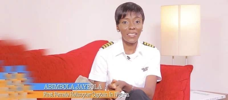 Retro: Lets talk about Abimbola Jaiyeola, Nigeria's first female helicopter pilot
