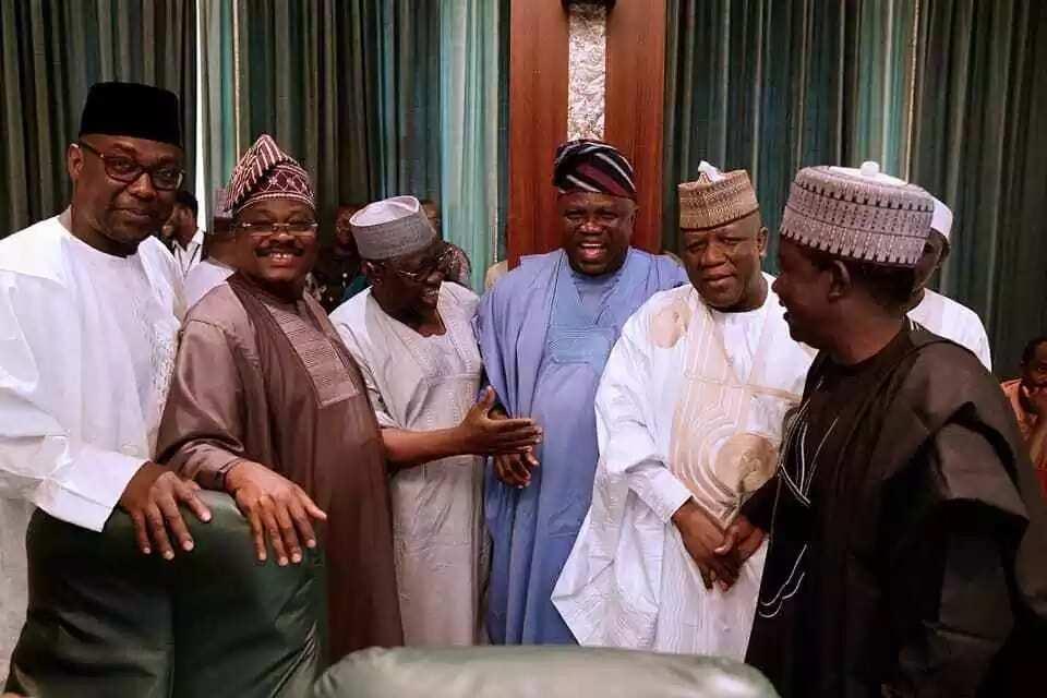 Ganawar Buhari da gwamnonin APC: Hotuna da rahoton abinda ya faru