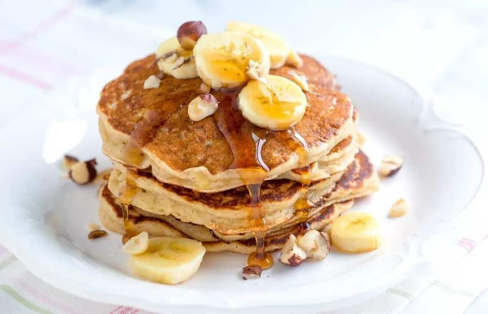 How to make pancakes without flour and baking powder ▷ Legit ng