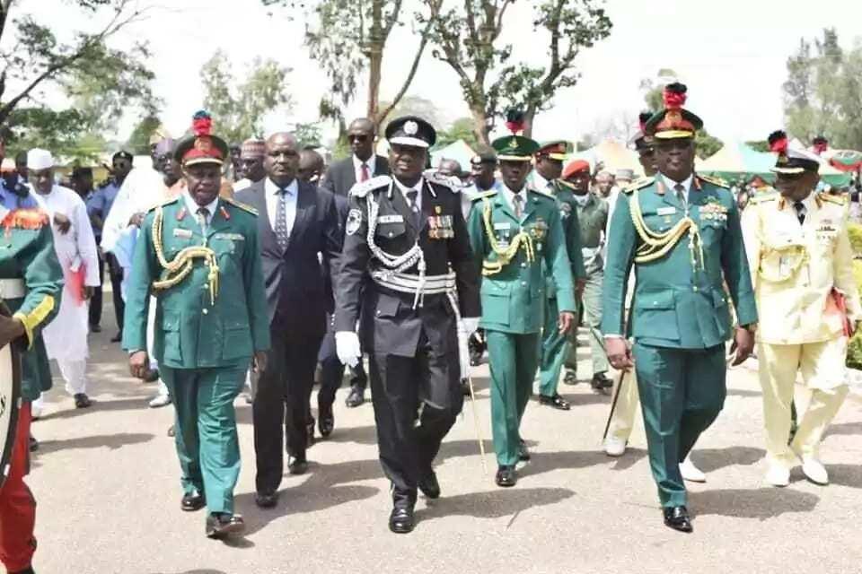 Sufeto janar na yan sanda ya bukaci 'Yan Najeriya da su marawa Buhari baya game da yaki da rashawa