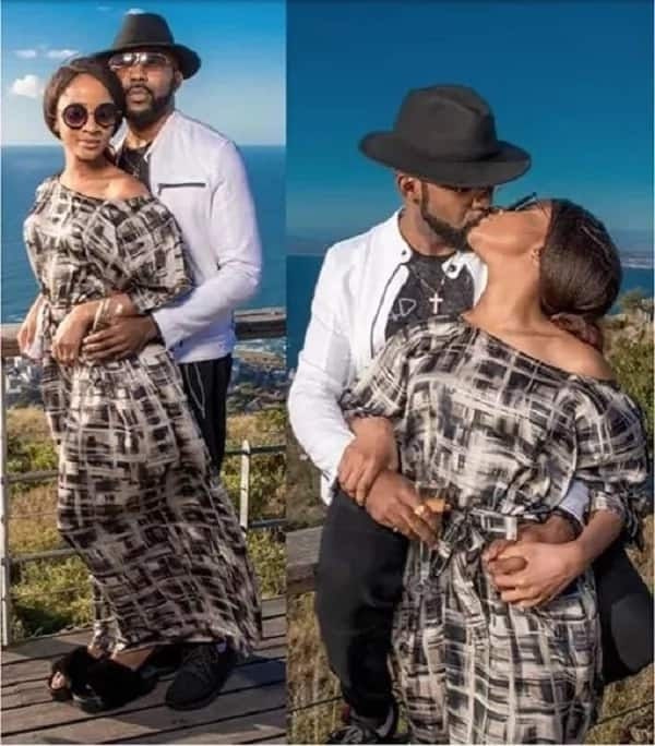 Pre-wedding photos of BankyW and Adesua in South Africa