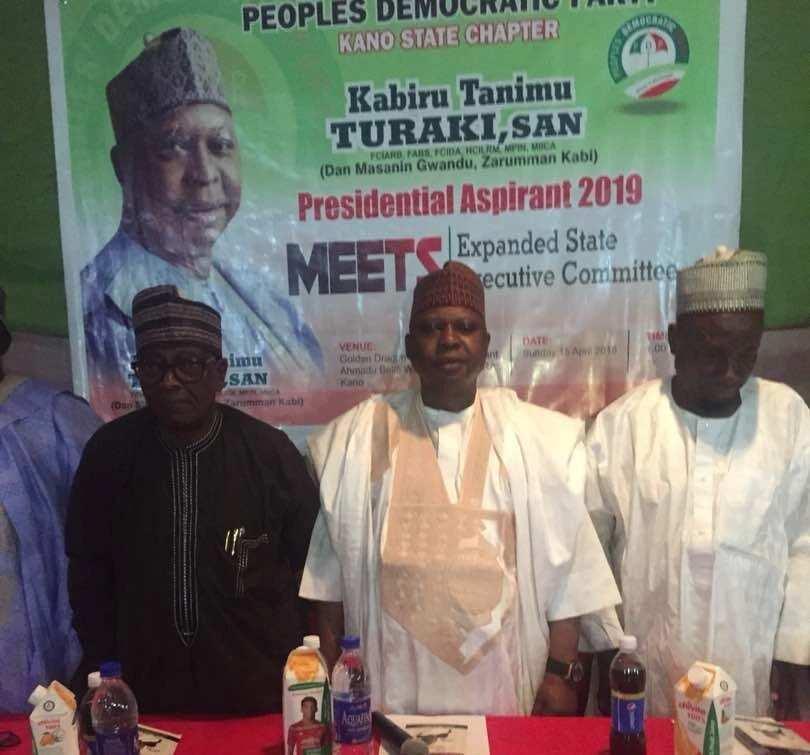 2019: Kabiru Turaki a good choice for PDP and Nigeria - Northwest PDP elders