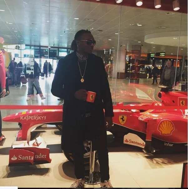 Terry G Goes Ferrari Shopping In Italy (PHOTOS)