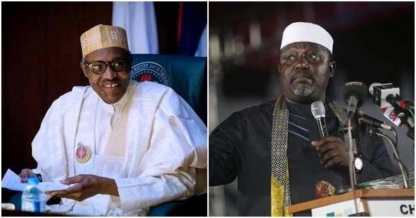 Allah ya amince da gwamnatinka – Okorocha ga Buhari