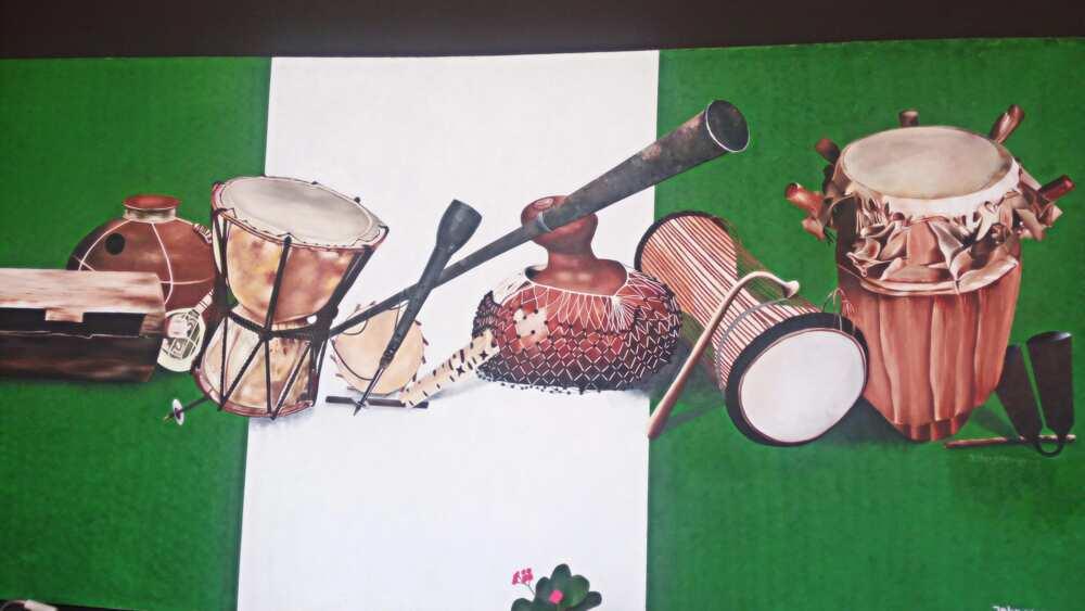 Local musical instruments in Nigeria ▷ Legit ng