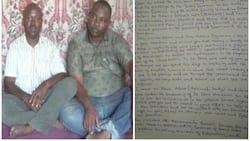 UNIMAID lecturer abducted by Boko Haram during oil exploration writes emotional letter to wife (photos)