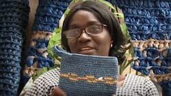 Gambian woman empowers women by making fashion items from plastic