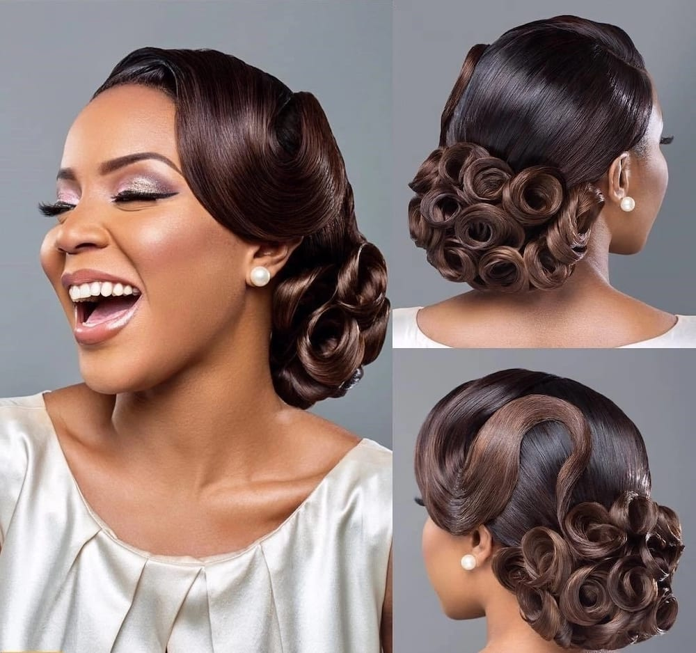 Wedding Hair Style Video: Latest Nigerian Wedding Hairstyles Legit.ng