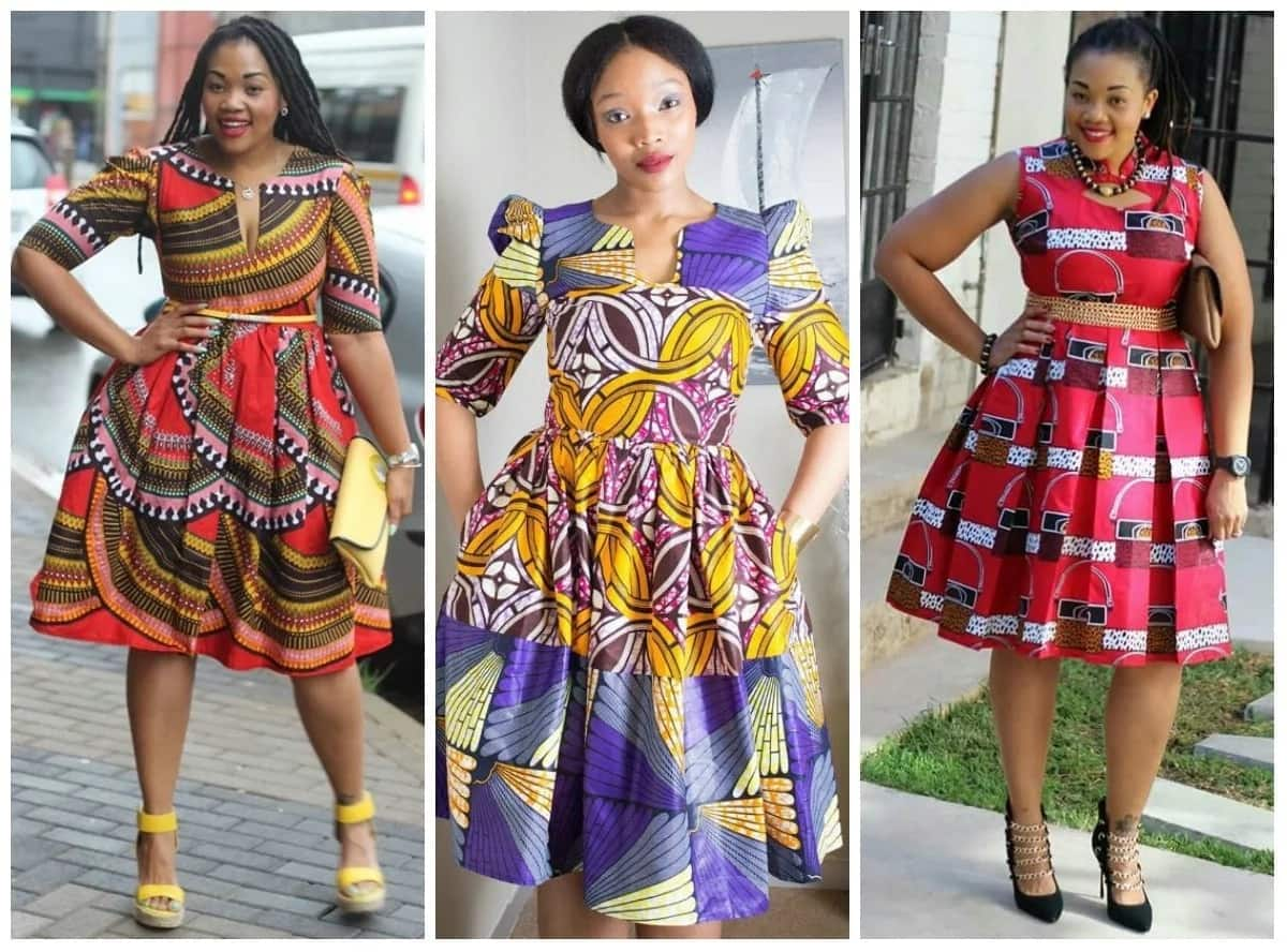 Latest Ankara flare gowns in 2018