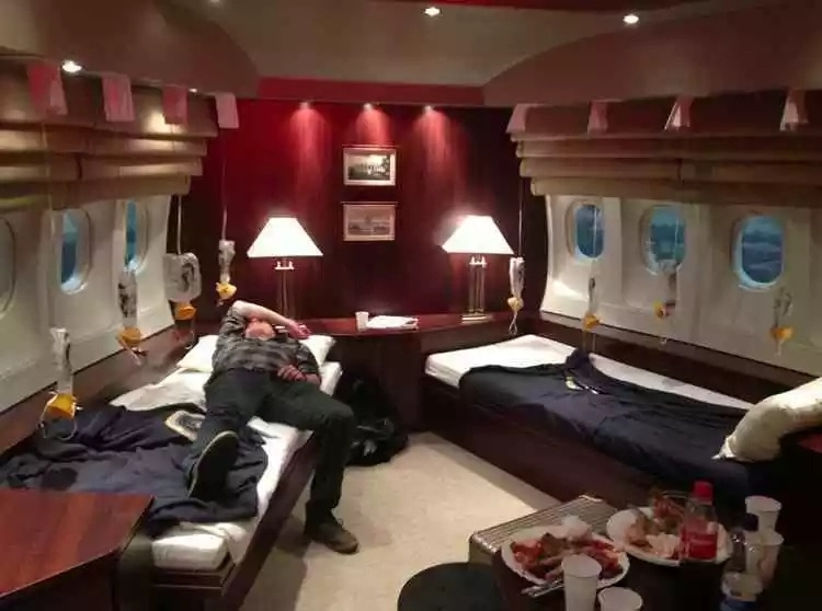 6 Pictures Of Inside Trump S Presidential Jet Legit Ng