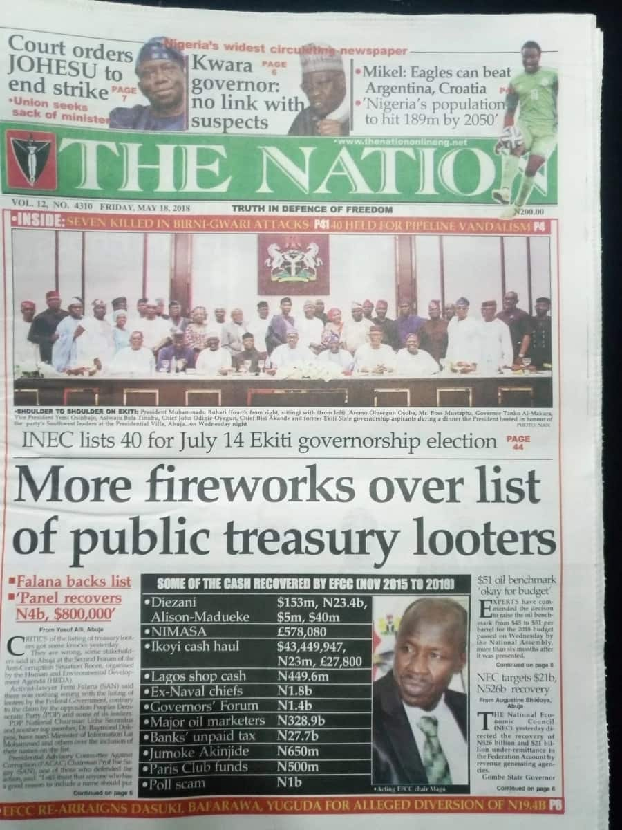 Newspaper Review: Efforts to end xenophobic attacks against Nigerians in S/Africa, not working - FG