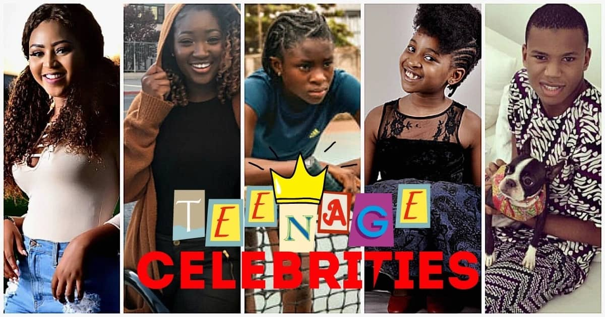 The most famous Nigerian teenagers