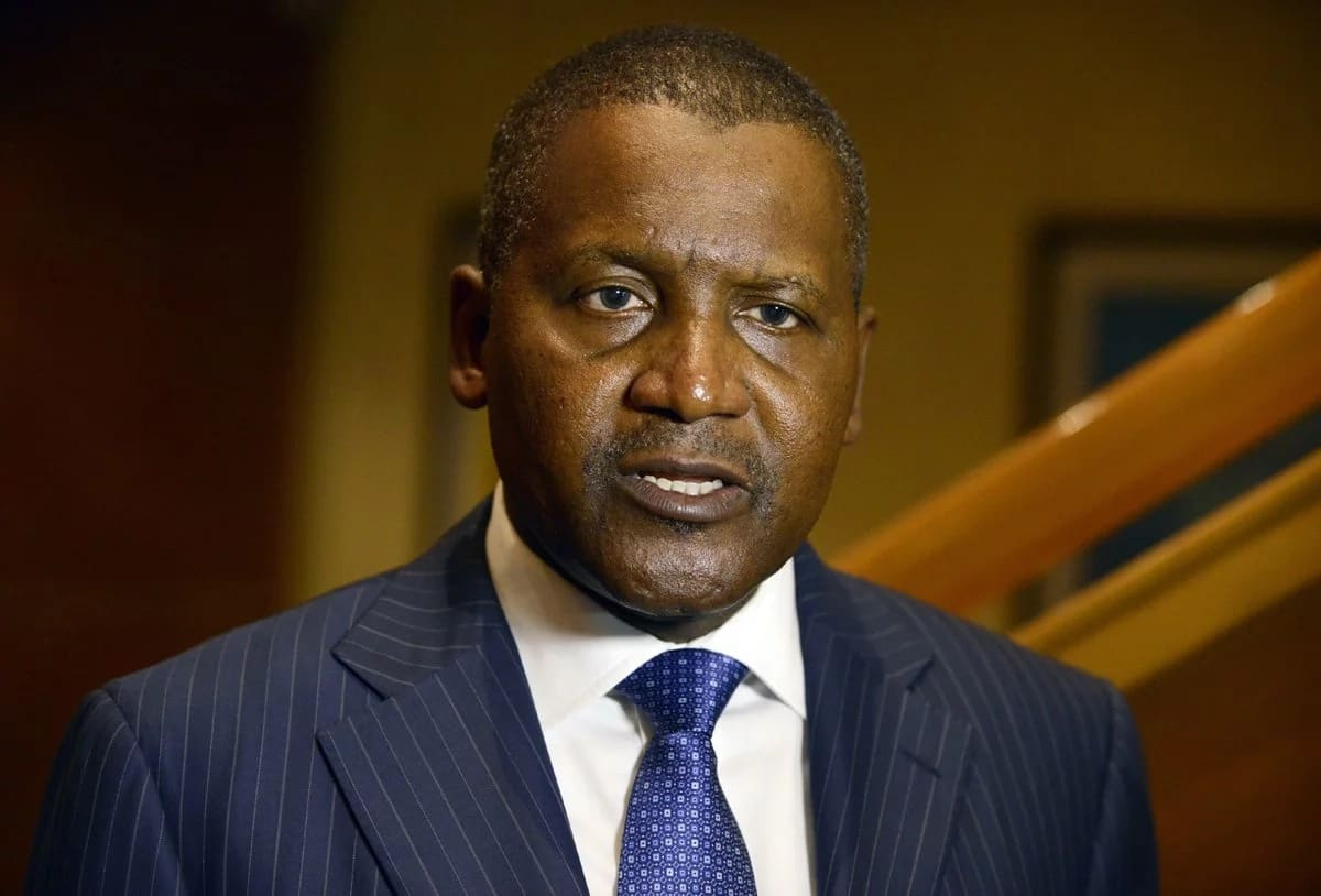 Dangote is currently building an oil refinery in Lekki, Lagos which will employ hundreds of people