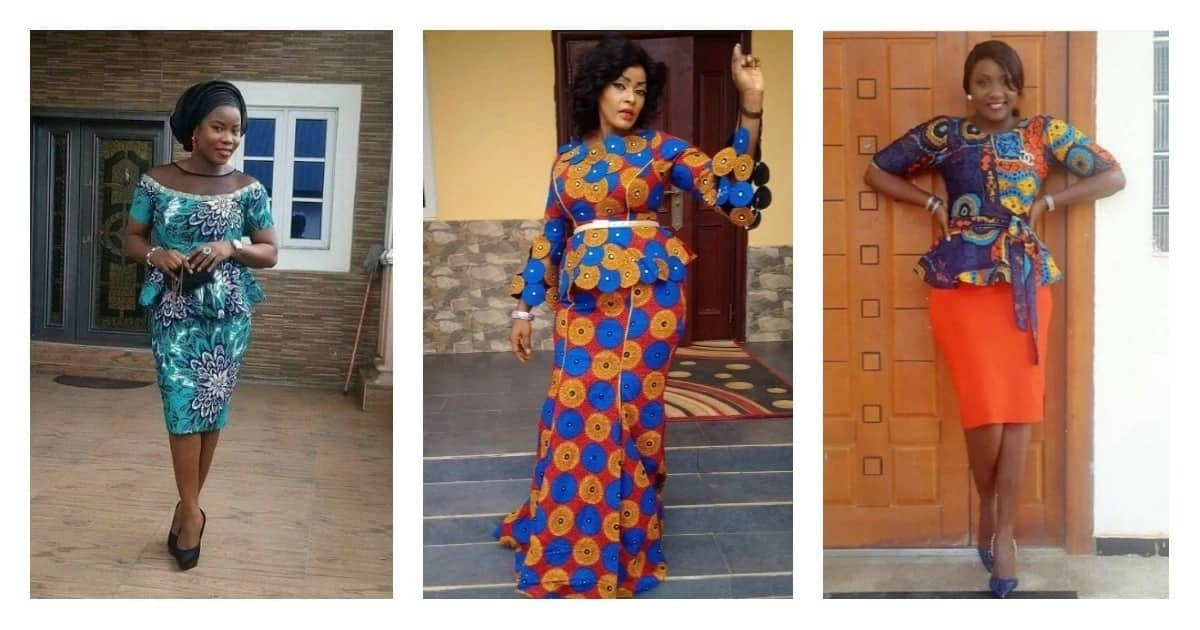 Latest Ankara designs for skirt and blouse