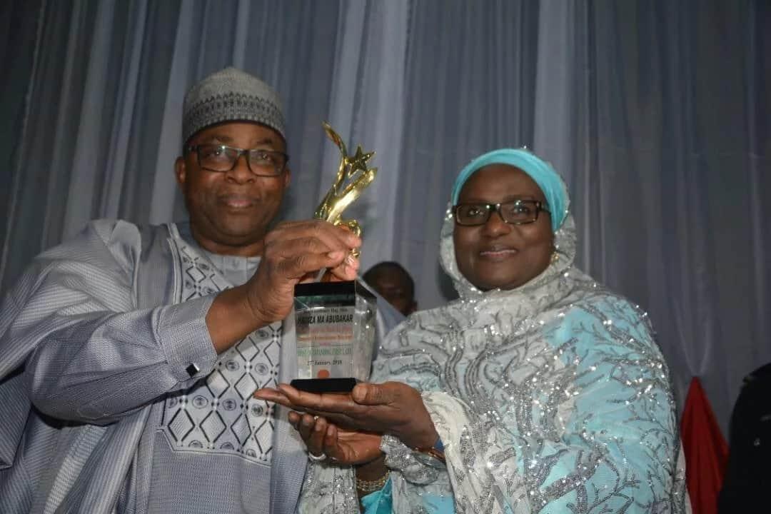 Bauchi State governor and his wife