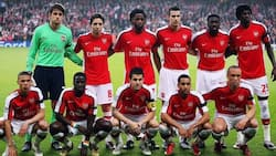 Former Arsenal star who is an African explains how he lost all the millions he made in football, currently sleeps on his friend's floor (photo)