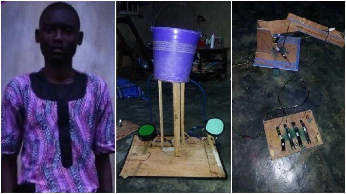 Image result for Samuel Adesola water generator