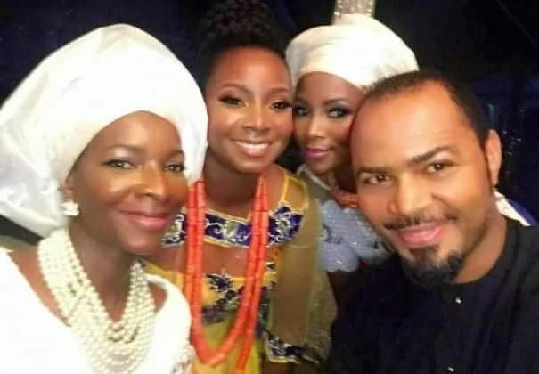 Nollywood stars at the introduction.