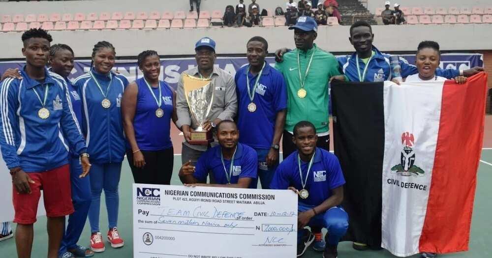 Nigerian Civil Defence ranks and salary ▷ Legit ng