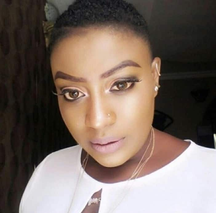Actress publicly tells singer Flavour that he makes her wet