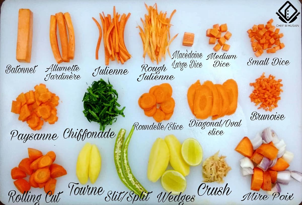 Types Of Vegetables Cutting Every Cook Should Know Legit Ng