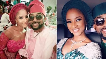 There is no big deal in being my wife's photographer - Banky W says as he shares marriage tips