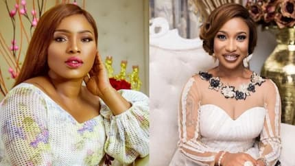 Halima Abubakar thanks Tonto Dikeh for taking care of her, labels her a great friend