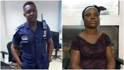 Ghanaians donate N3m to nursing mother who was brutalised by police officer (photos)
