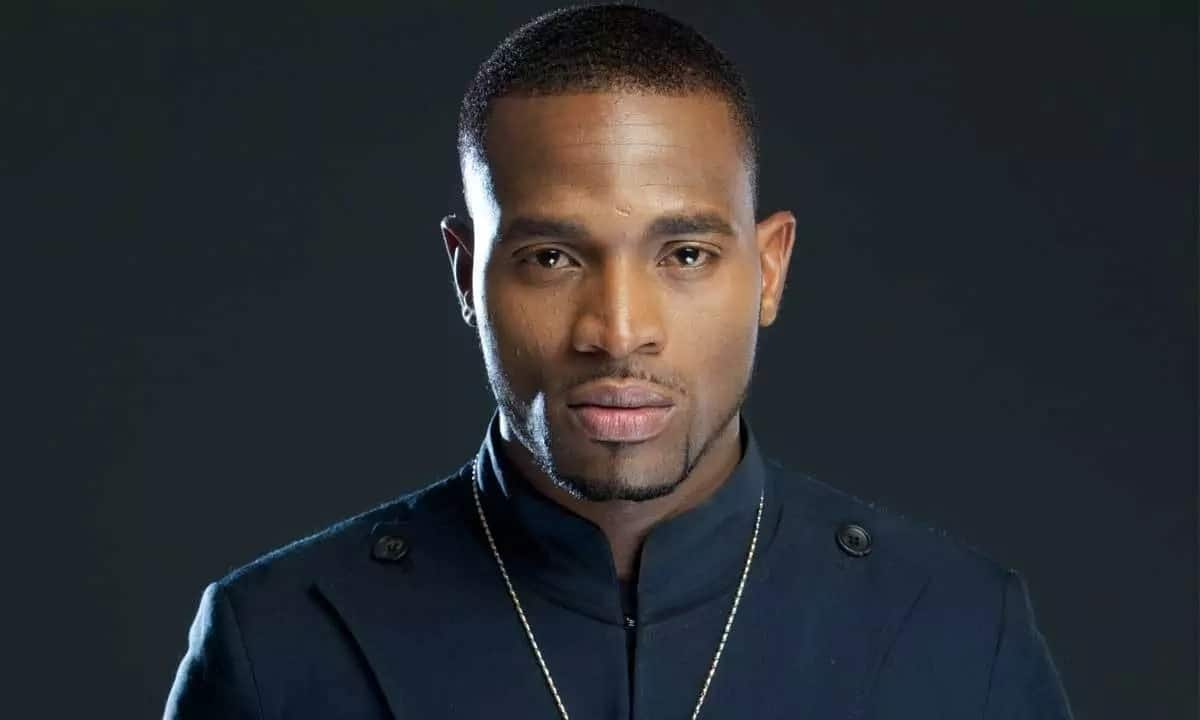 The stern look of D'banj will not leave indifferent any woman