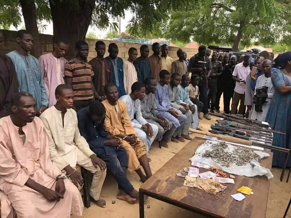Police arrests 22 Boko Haram terrorists, reveal their full profiles (photos)