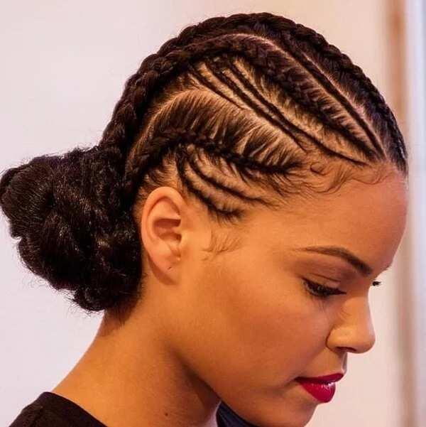 All Back Ghana Weaving Hairstyles Legit