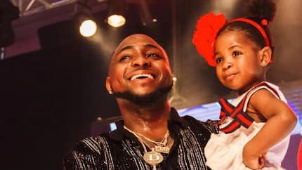Davido's first daughter Imade congratulates her father on his birthday