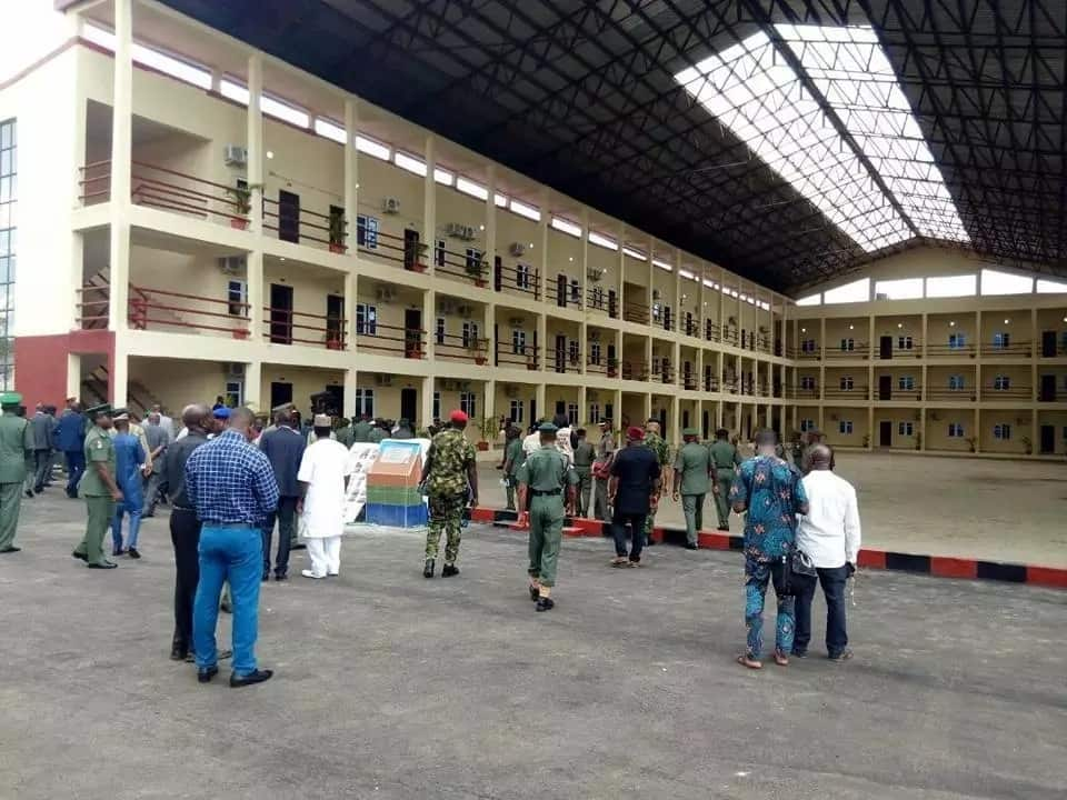 Chief of army staff commissions world class army war college complex (photos)