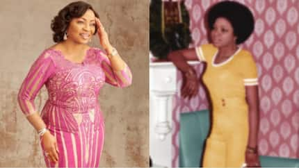 Beautiful throwback photo of Nigerian billionaire Folorunso Alakija