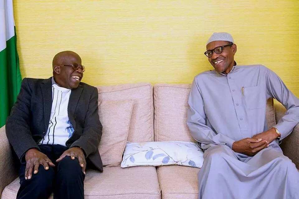 Breaking: Buhari and Tinubu meet in London