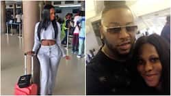 Update: Nigerian lady denies having 'kerewa' with BBNaija's Teddy A on a plane, reveals what truly happened