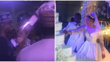 Watch what billionaire Ayiri Emami did at brother's wedding that stunned guests (video)