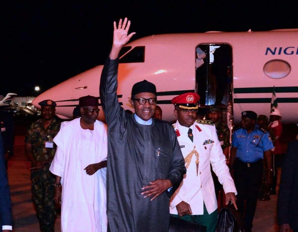 Yanzu Yanzu: Shugaba Buhari ya isa Abuja bayan ziyarar da ya kai kasar Maroko