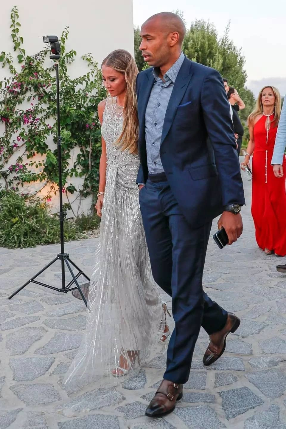Messi, Kante, Henry others attend Fabregas wedding celebration with Daniella
