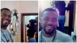 Newly married actress Yvonne Jegede's husband cannot keep quiet about her asset (Photos)