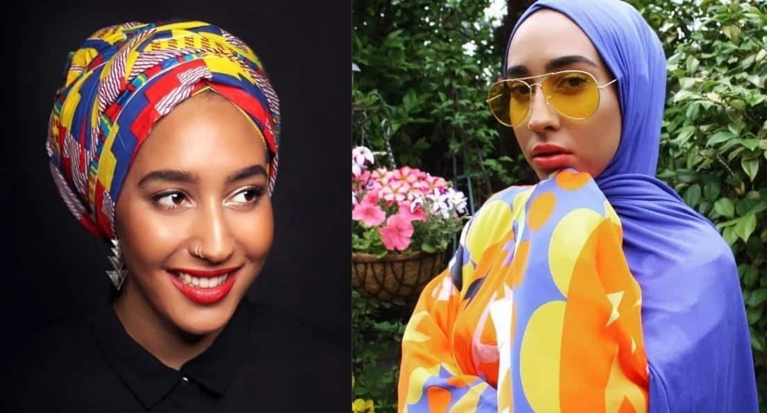 Hijab styles for long face shapes